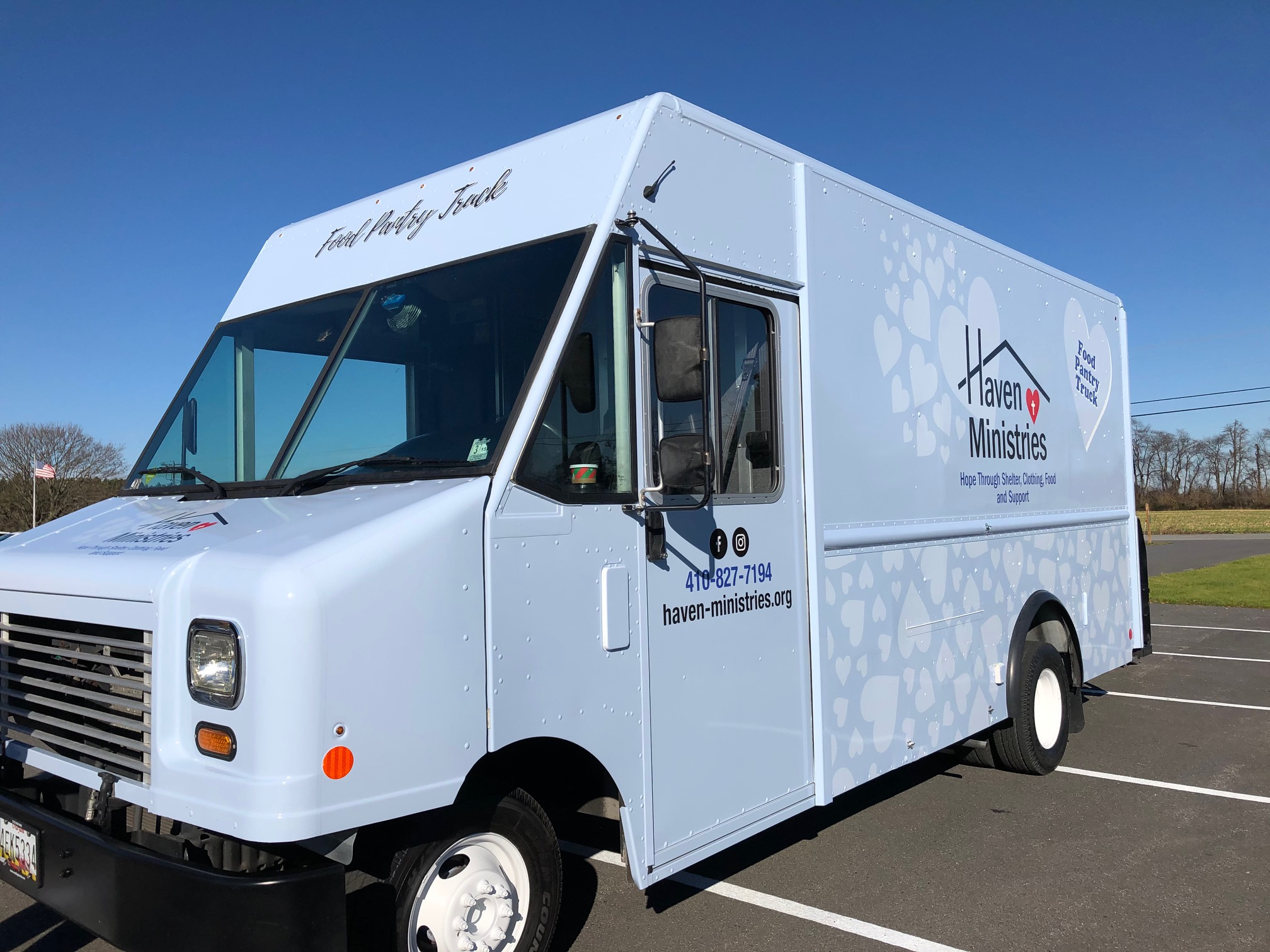 Haven Ministries Food Truck Pantry