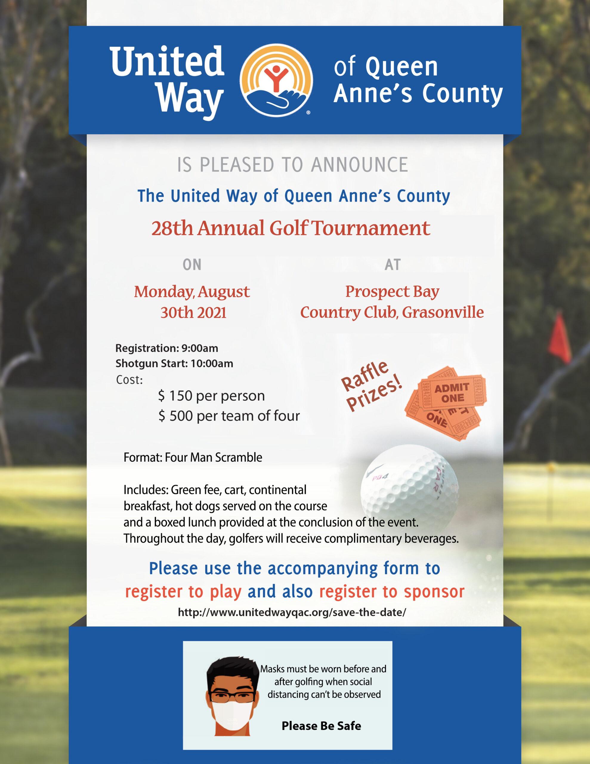 Golf Information flyer